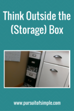 Think Outside the (Storage) Box
