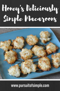 Honey's Deliciously Simple Macaroons