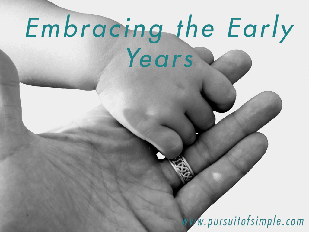 Embracing the Early Years_Holding Hands