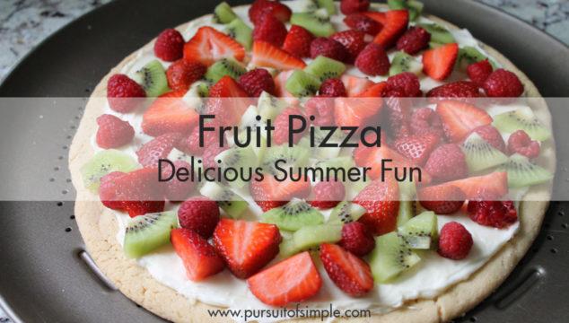 Fruit Pizza: Delicious Summer Fun