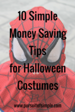 10 Simple Money Saving Tips for Halloween Costumes