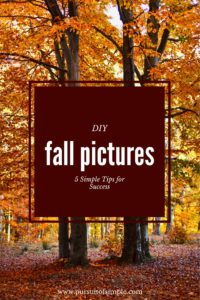 DIY Fall Pictures: 5 Simple Tips for Success