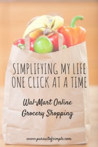 Simplifying my Life One Click at a Time: Wal-Mart Online Grocery Shopping